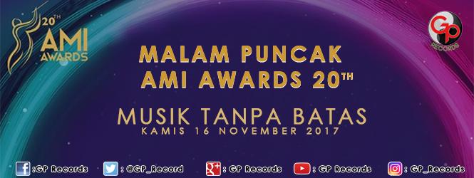 ANUGERAH MUSIK INDONESIA (AMI)  AWARDS 2017