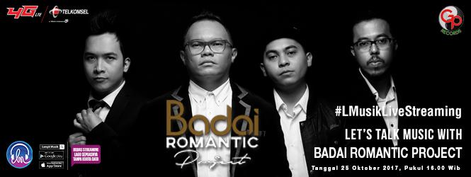 """BADAI ROMANTIC PROJECT LIVE STREAMING  LANGIT MUSIK  """"MELAMARMU"""""""