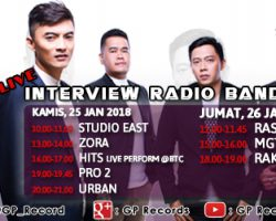 "GANGSTERS OF LOVE ""I MISS YOU"" LIVE INTERVIEW RADIO  DAN LIVE PERFORM DI BANDUNG"