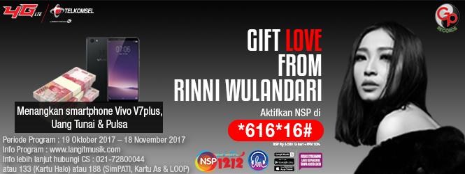 GIFT LOVE FROM RINNI WULANDARI
