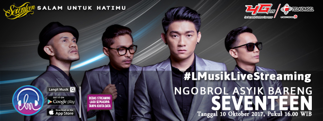 LIVE NOW! NGOBROL ASYIK BARENG SEVENTEEN DI LANGIT MUSIK