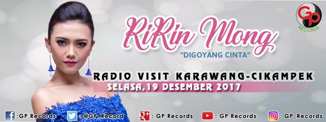 """RIRIN MONG """"DIGOYANG CINTA"""" VISIT RADIO DI KARAWANG DAN CIKAMPEK"""